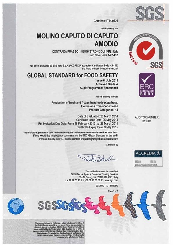 Molino_Caputo_BRC_certificate_2015-2_page_1